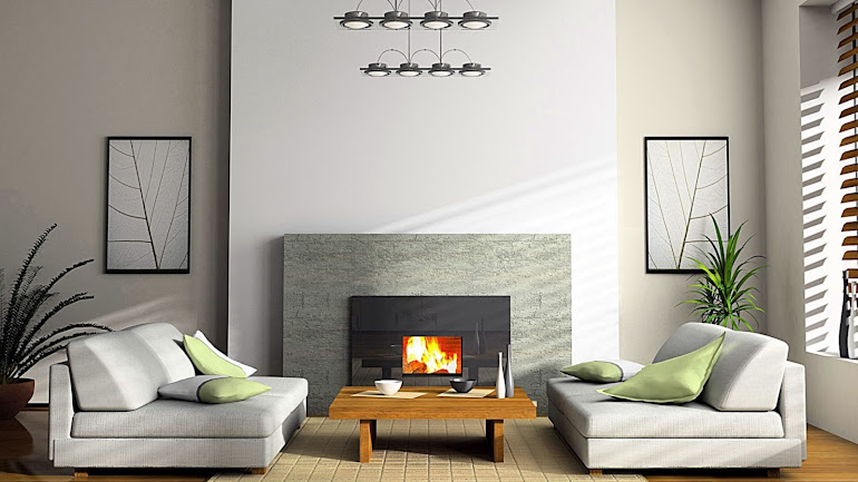 Interior Design of rooms with a fireplace