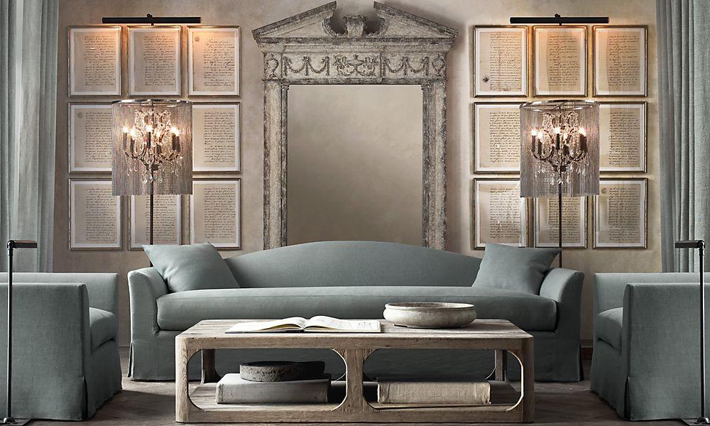 Svetlana roma design designer 39 s weekdays american old - Restoration hardware living room ideas ...