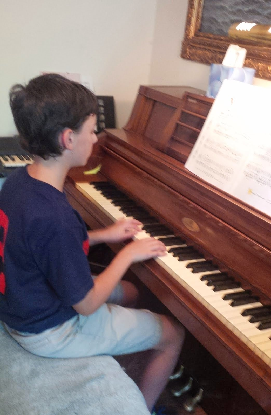 Boys Greatly Benefit from Study of  Piano & Music Theory