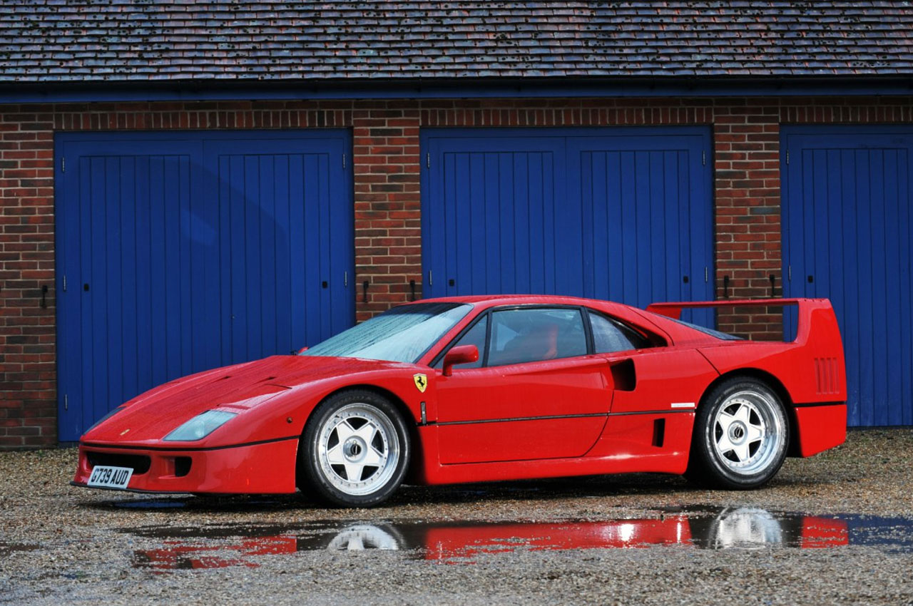 Four Rare Ferraris From Private Collection Have A Major Role At Bonhams ...