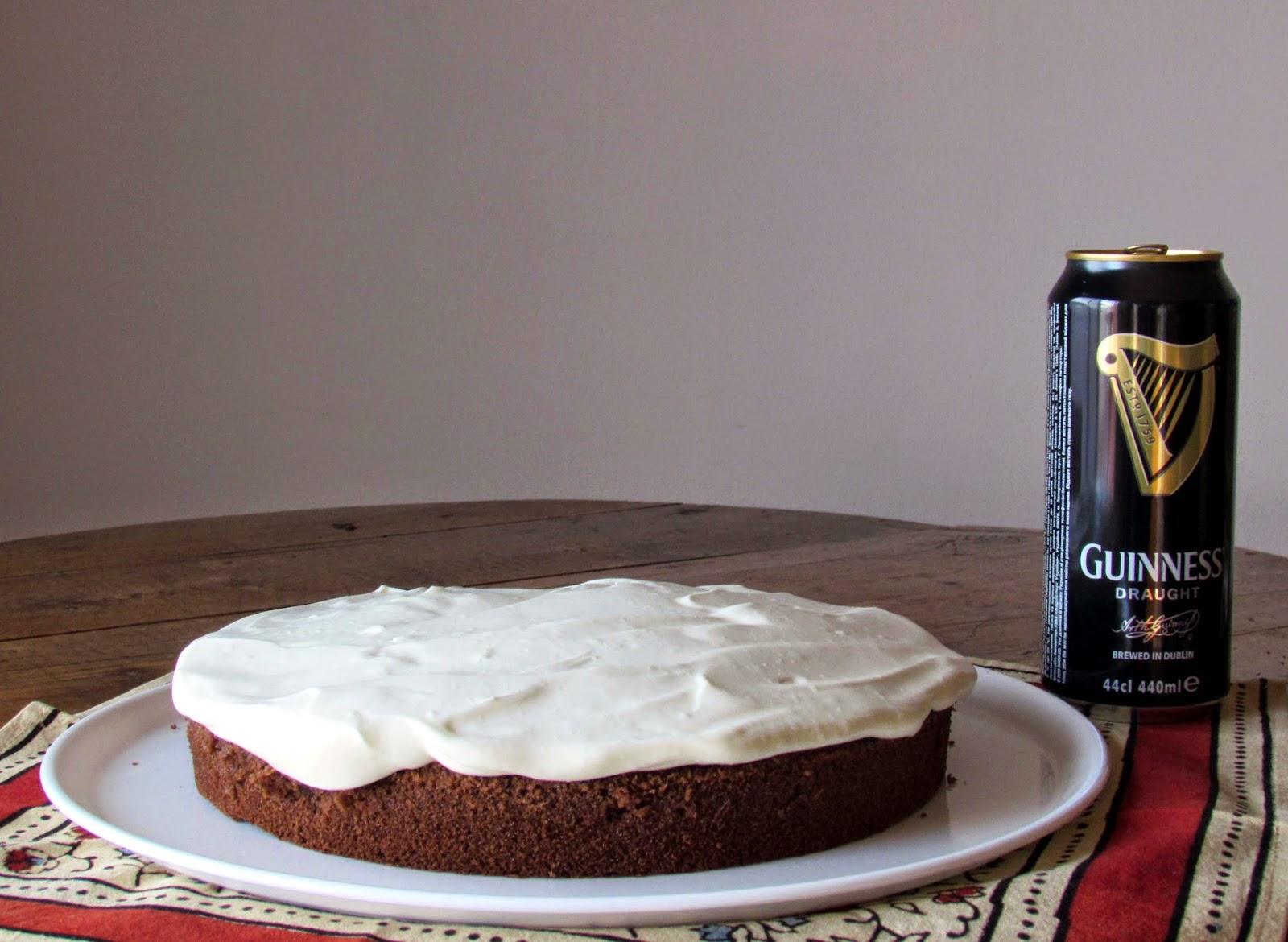 Tarta Guinness, receta