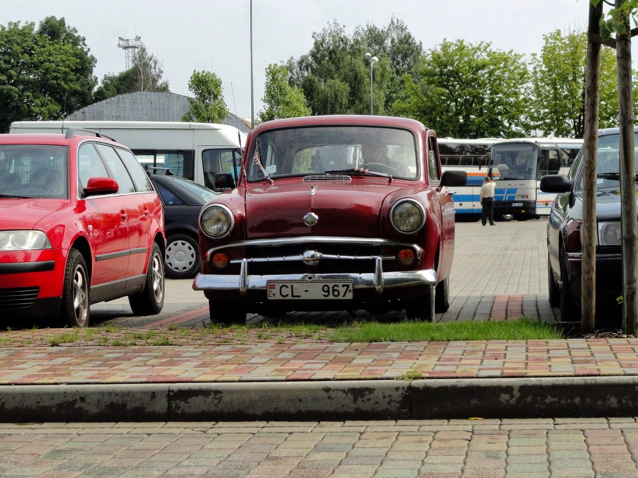 Moskvich 402 - Soviet subcompact of the fifties