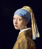 """φτιάξτε το παζλ με το έργο του Vermeer """"η γυναίκα με το σκουλαρίκι"""""""