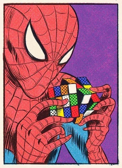 Spiderman Rubik Solución