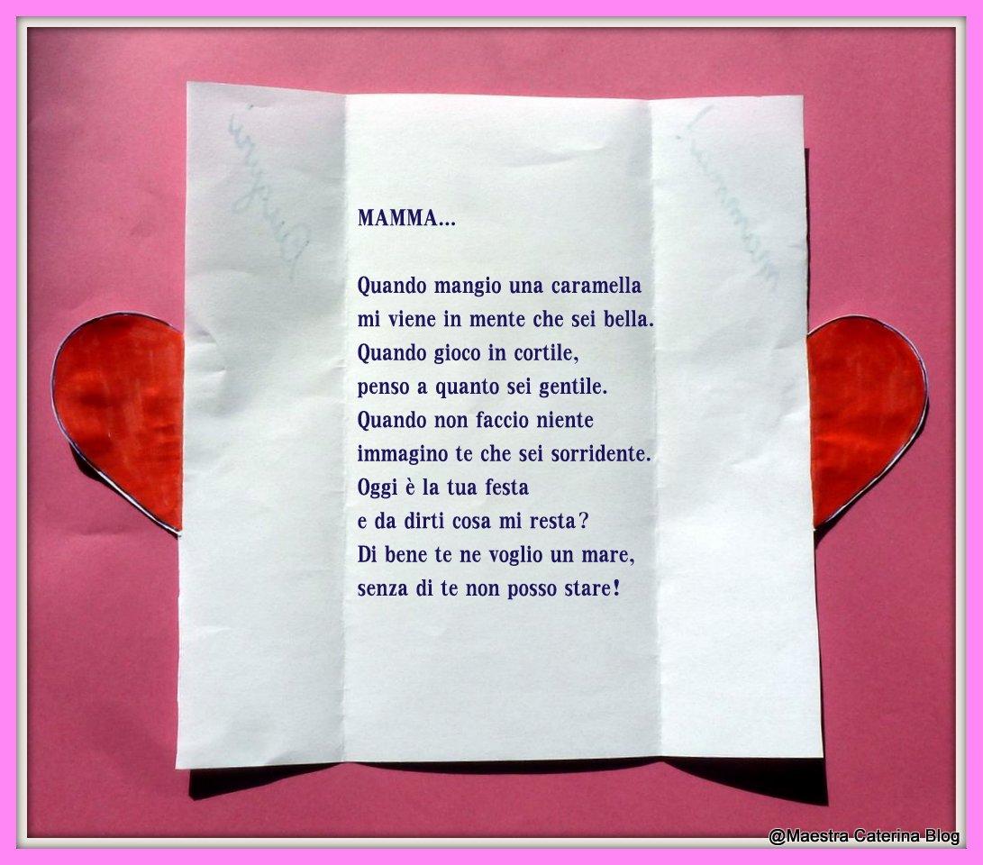 Popolare Maestra Caterina: Poesia per la Festa della Mamma ST85