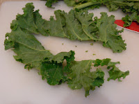 Cutting Kale
