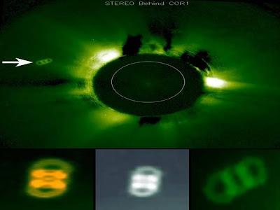 OVNI doble anillo sol