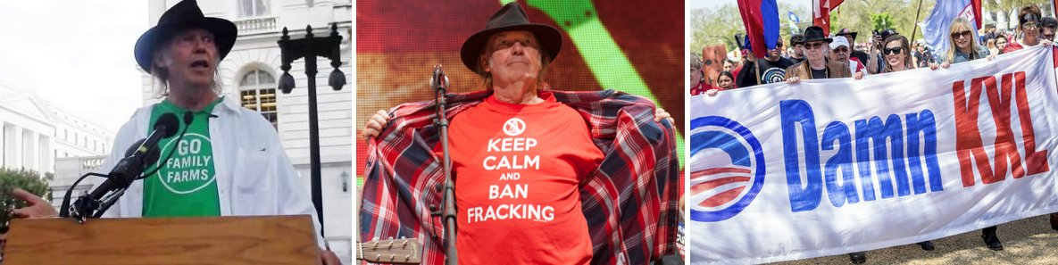 Umweltaktivist Neil Young