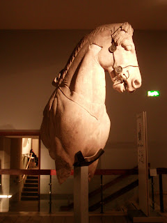 Roman horse bust, The British Museum, London