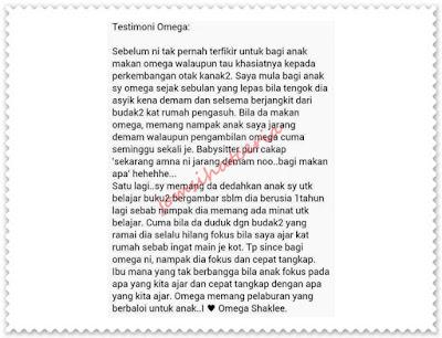 Independent SHAKLEE Distributor, Info, Kongsi, Omega Guard, Pengedar Shaklee Kuantan, Produk SHAKLEE, Testimoni Omega,