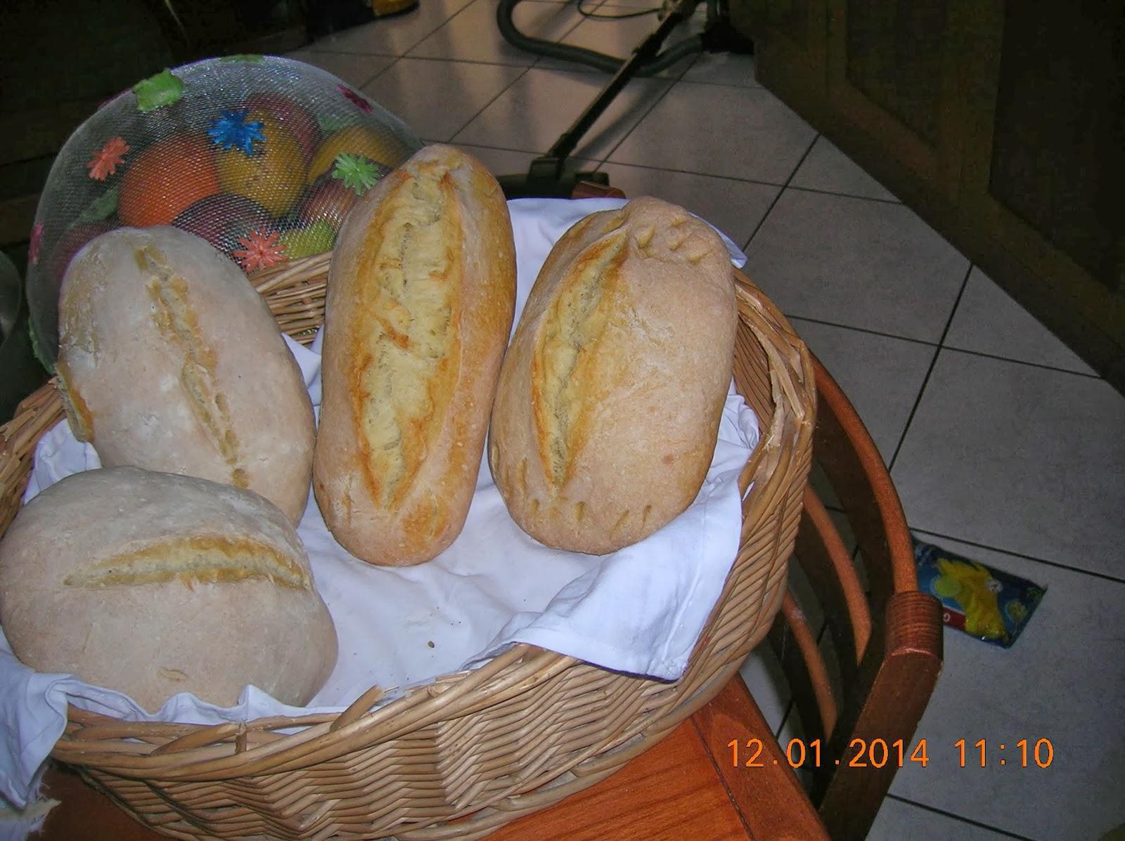 pane  fatto in casa - fettuccine rigate fatte in casa   ai funghi ... petto  di pollo farcito