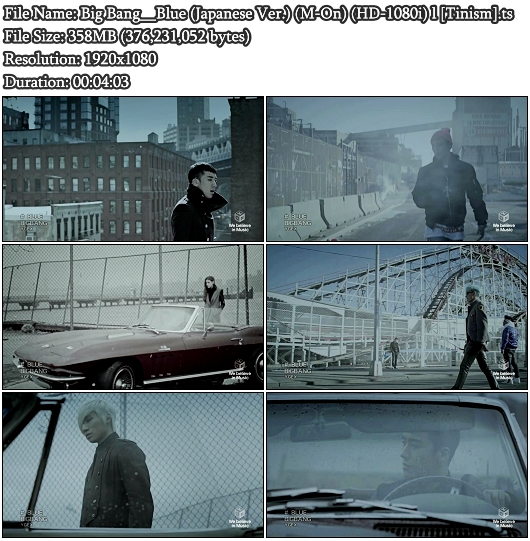 Big Bang - Blue (Japanese Version) (M-On Full HD 1080i)