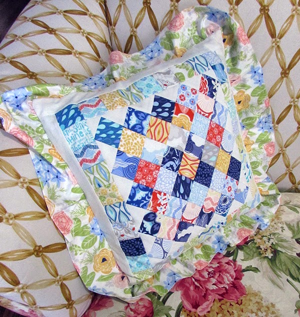 Common Sense quilt pattern, pillow