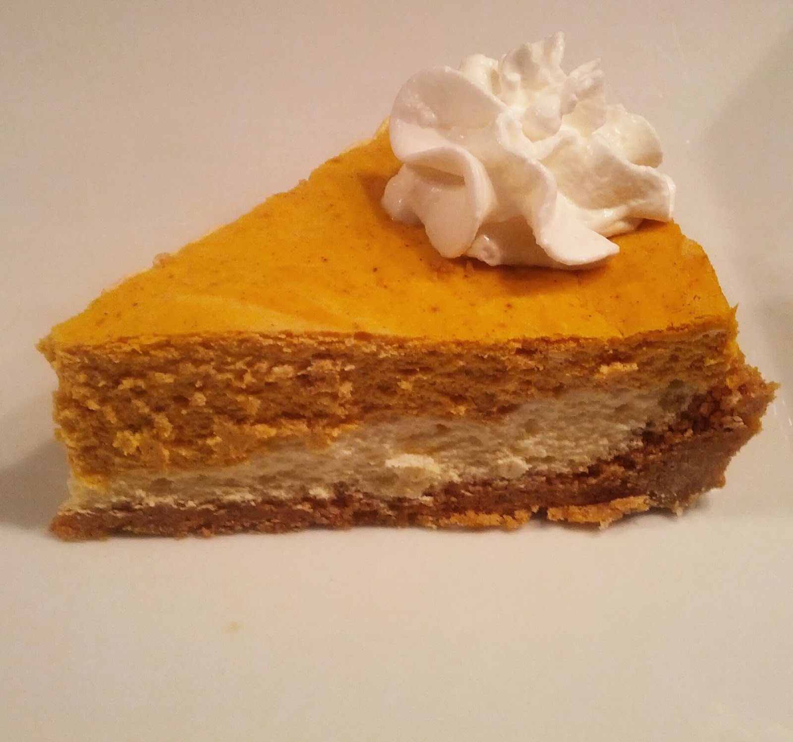 Yipson Foods Recipes and Blog: Layered Pumpkin Cheesecake