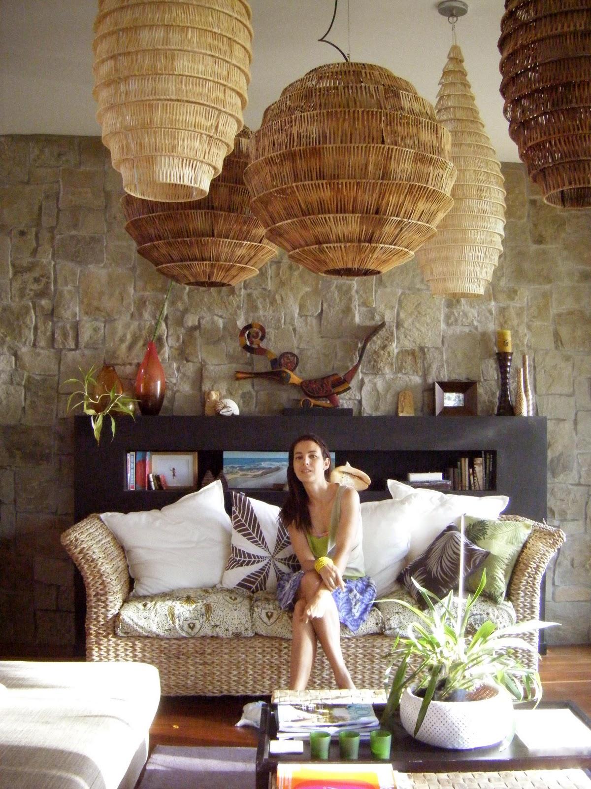 deco salon blanc et osier avec des id es int ressantes pour la conception de la. Black Bedroom Furniture Sets. Home Design Ideas