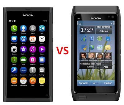 Diez grandes diferencias entre el Nokia N8 y el Nokia N9