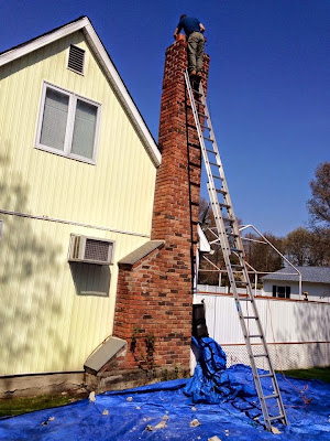 Chimney Rebuild May 2015