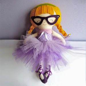 Buy Handmade | Christmas Gift Guide For Children - Blonde Girl Plush Doll