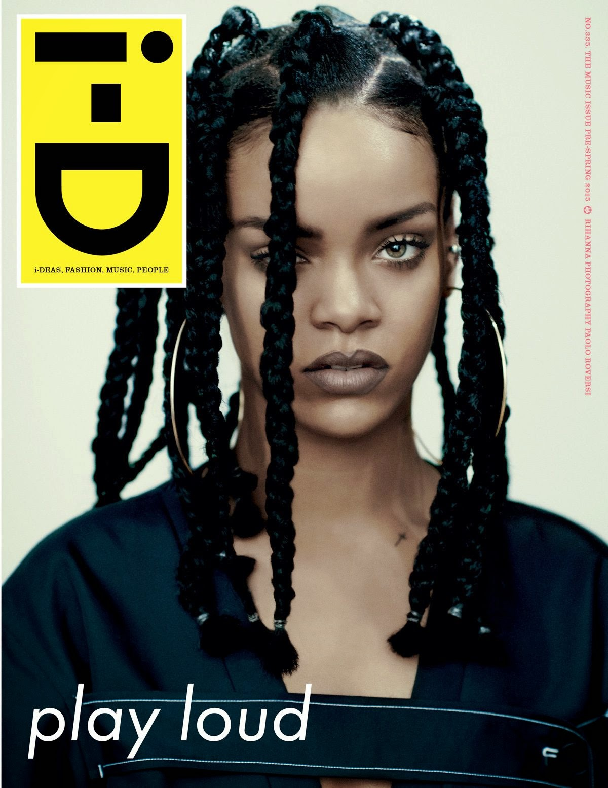 Singer, Actress, Fashion Designer: Rihanna for i-D Magazine