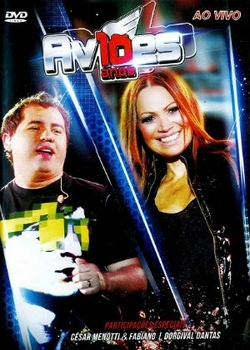 capa Download   Aviões do Forró 10 Anos Ao Vivo   DVDRip AVI ( 2013 )