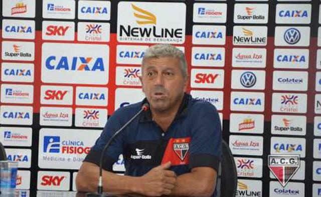 Gilberto Pereira acredita em um jogo complicado contra o Botafogo (foto: Fábio Marques/Atlético-GO)