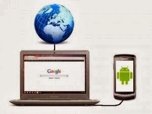 Cara Membuat Android Menjadi Modem Dengan USB