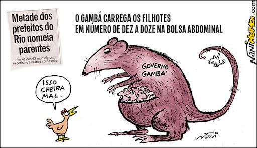 metade dos prefeitos do Rio nomeia parentes