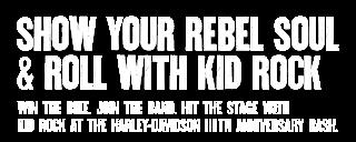 Harley-Davidson's Rebel Soul Contest