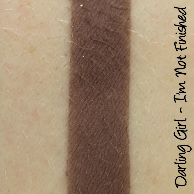Darling Girl He Skewered Kim eyeshadow swatches & review