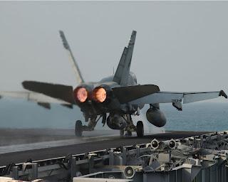 Jet Hornet F-18 Crash