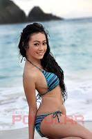 hot Foto Nheyla Putri di Majalah Popular