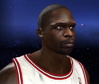 NBA 2K14 Luol Deng Cyber Face Mod