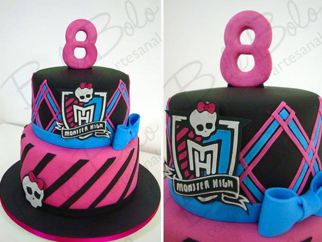 Modelos De Bolo E Cupcake Monster High