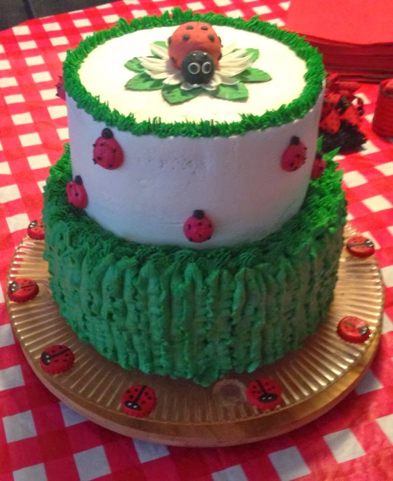 Cake Decorations Montgomery Al : Adam s Best Cake Decorating: lady Bug