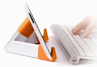 clean your screen and tablet ipad stand two in one