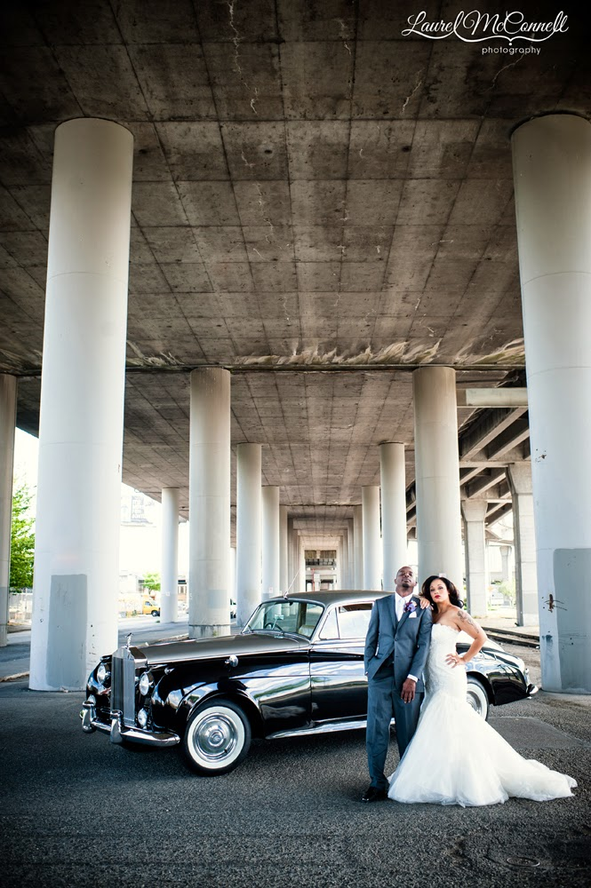Amanda & Corey & Limo - Kent Buttars, Seattle Wedding Officiant