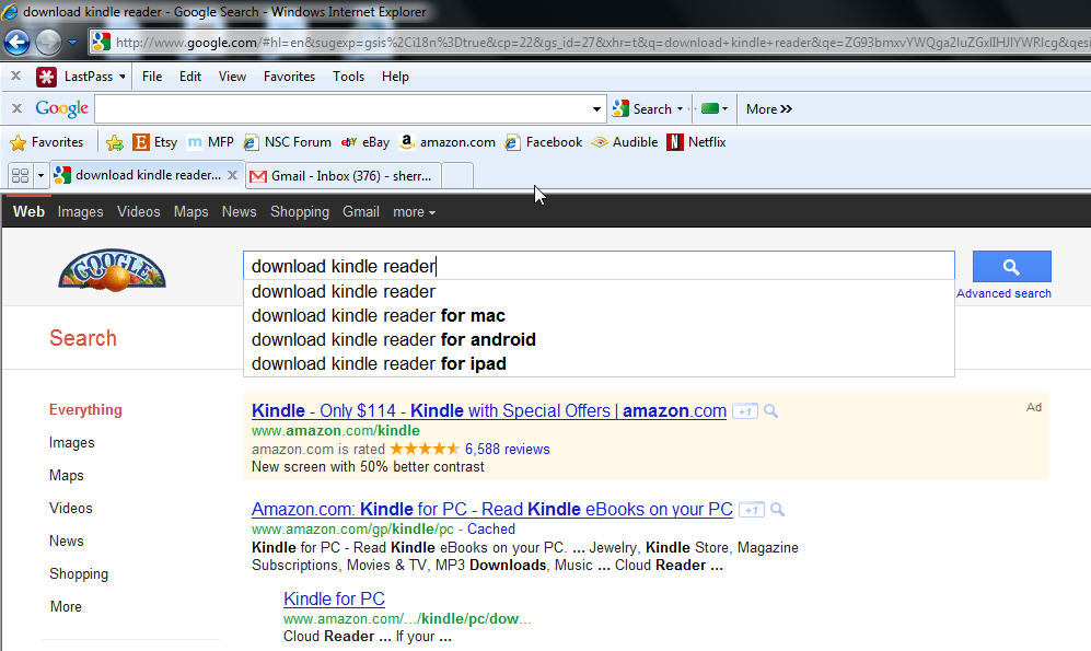 how to download kindle books via pc