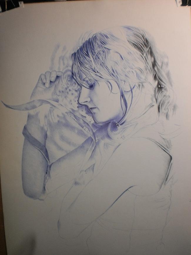 realismo en el dibujo