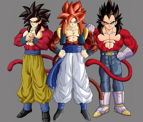 Dragon ball z wallpapers gogeta super saiyan 4 - Son gohan super saiyan 4 ...