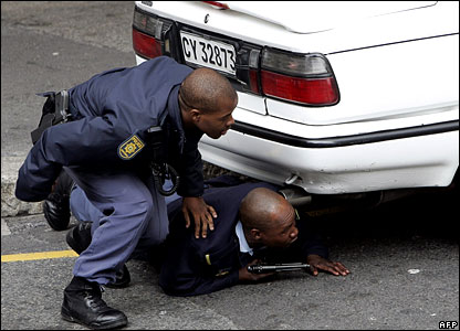 South Africa crime