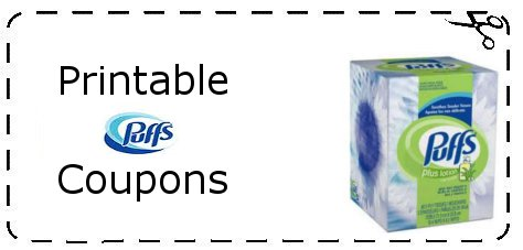 Puffs tissue coupons canada