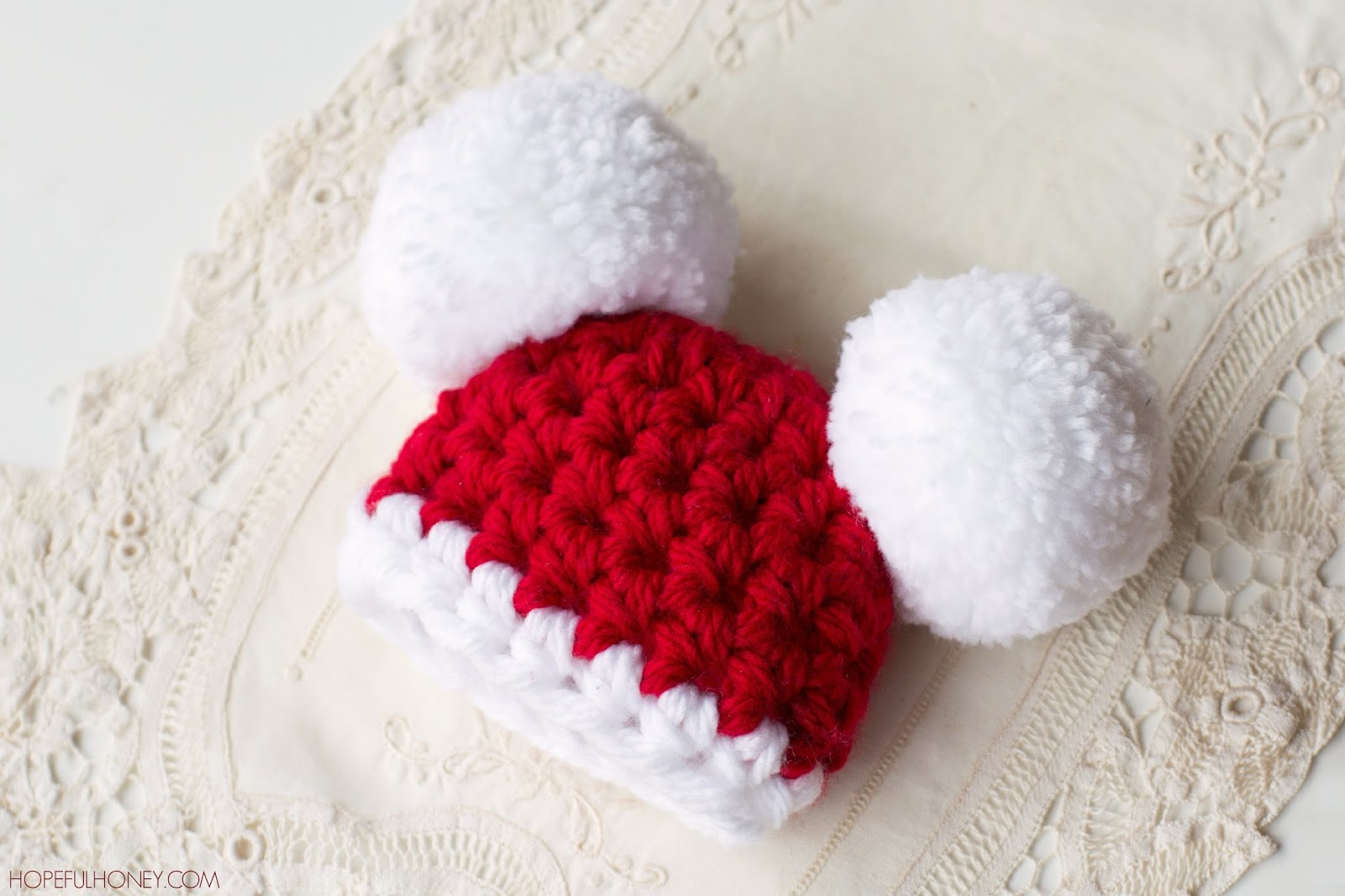 Free Crochet Patterns For Baby Christmas Hats ~ manet for .