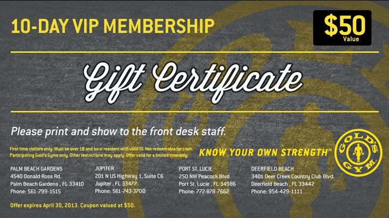 Fitness gift certificate template northurthwall fitness gift certificate template yadclub Image collections