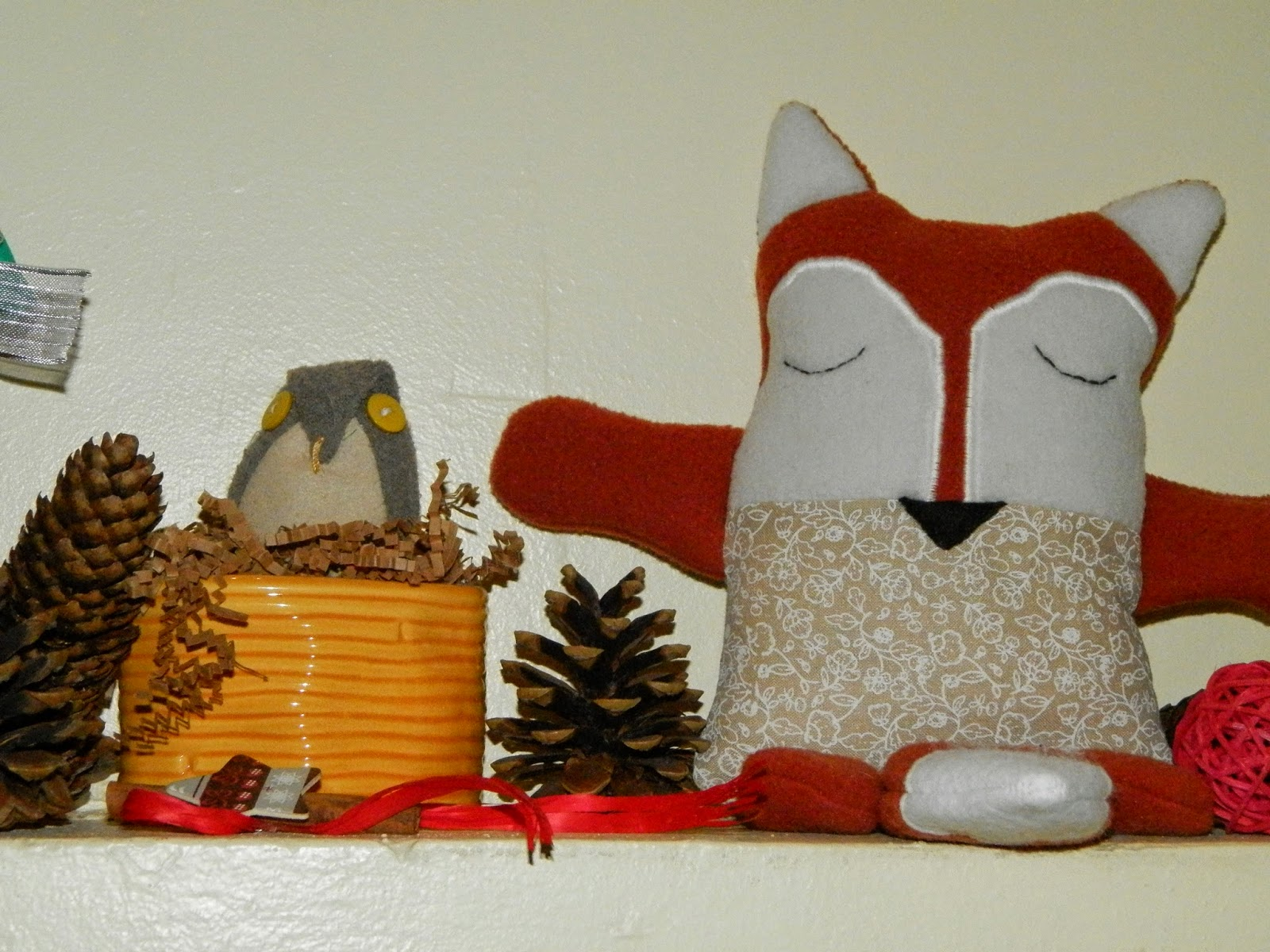 Coton et Création : décoration de Noël en tissu