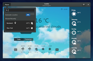 GNOME Weather 3.14