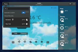 GNOME Weather 3.14