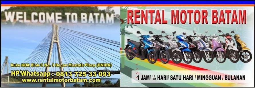 Rental Motor Batam, Whatsapp/Hp 0813 725 33093