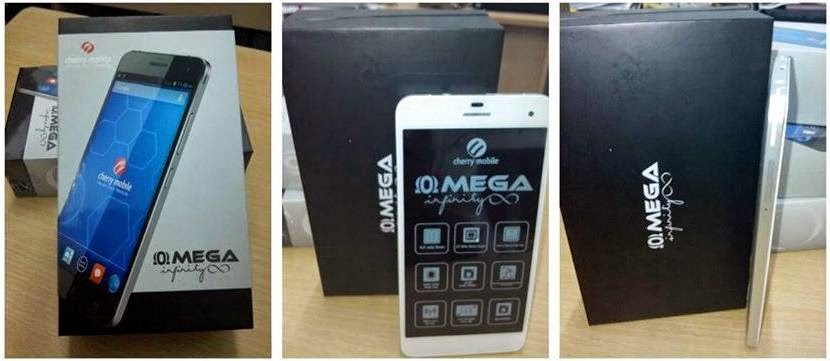 Cherry Mobile Omega Infinity, Octa Core Phablet Now Available For Php14,999