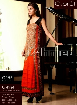 Gul Ahmed G-Pret Collection 2014 for Girls