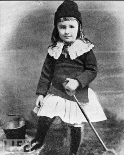 Franklin Delano Roosevelt, 3 Years Old, 1885